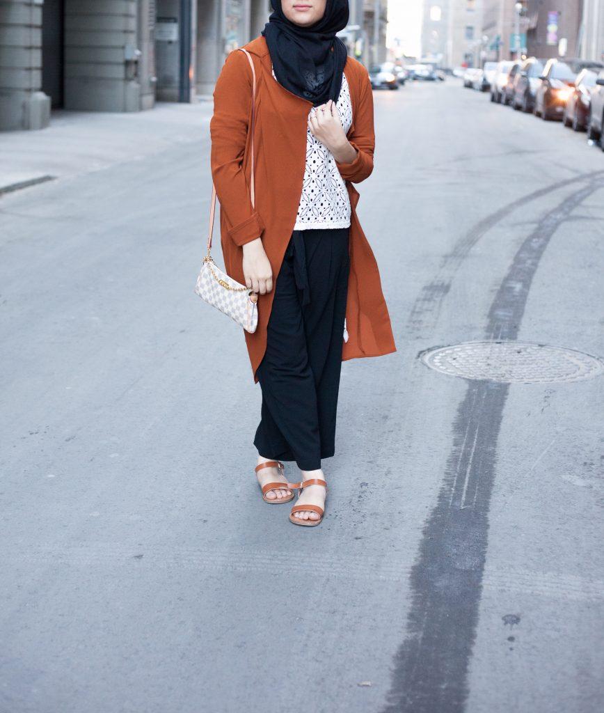 modest pants culottes