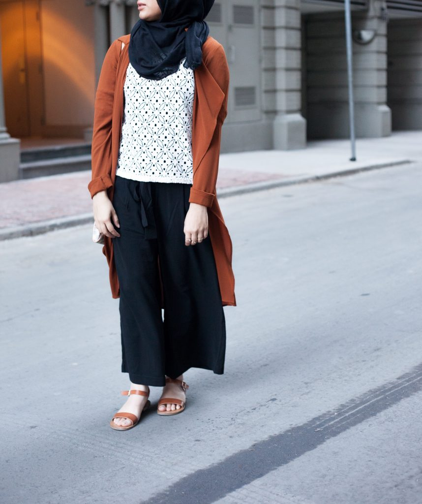modest pants hijab