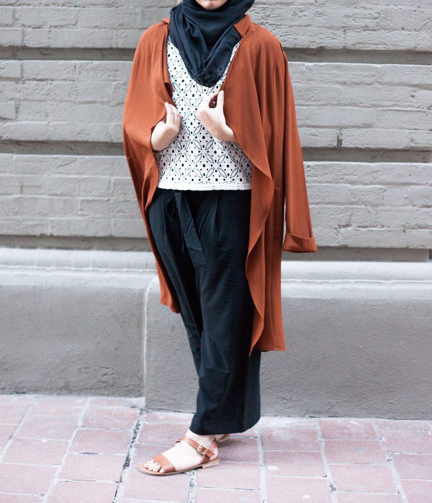 modest pants style