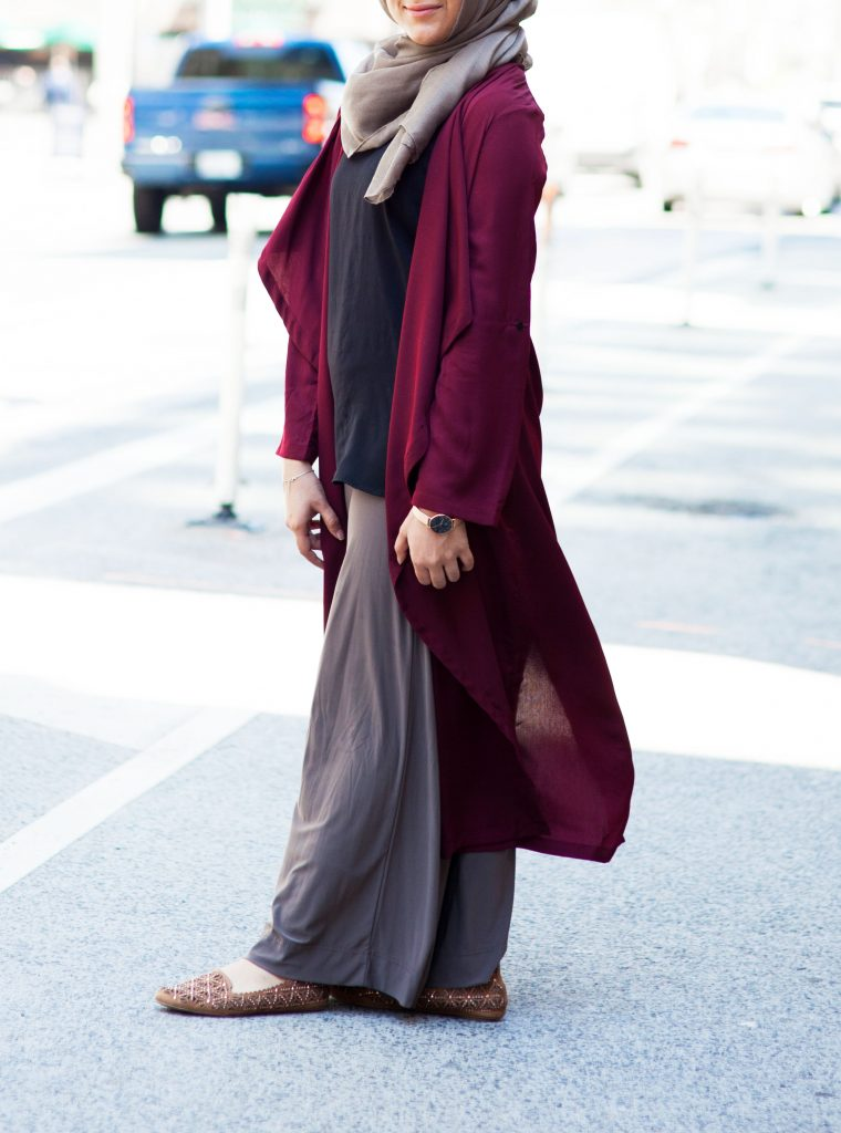 modest summer outfit