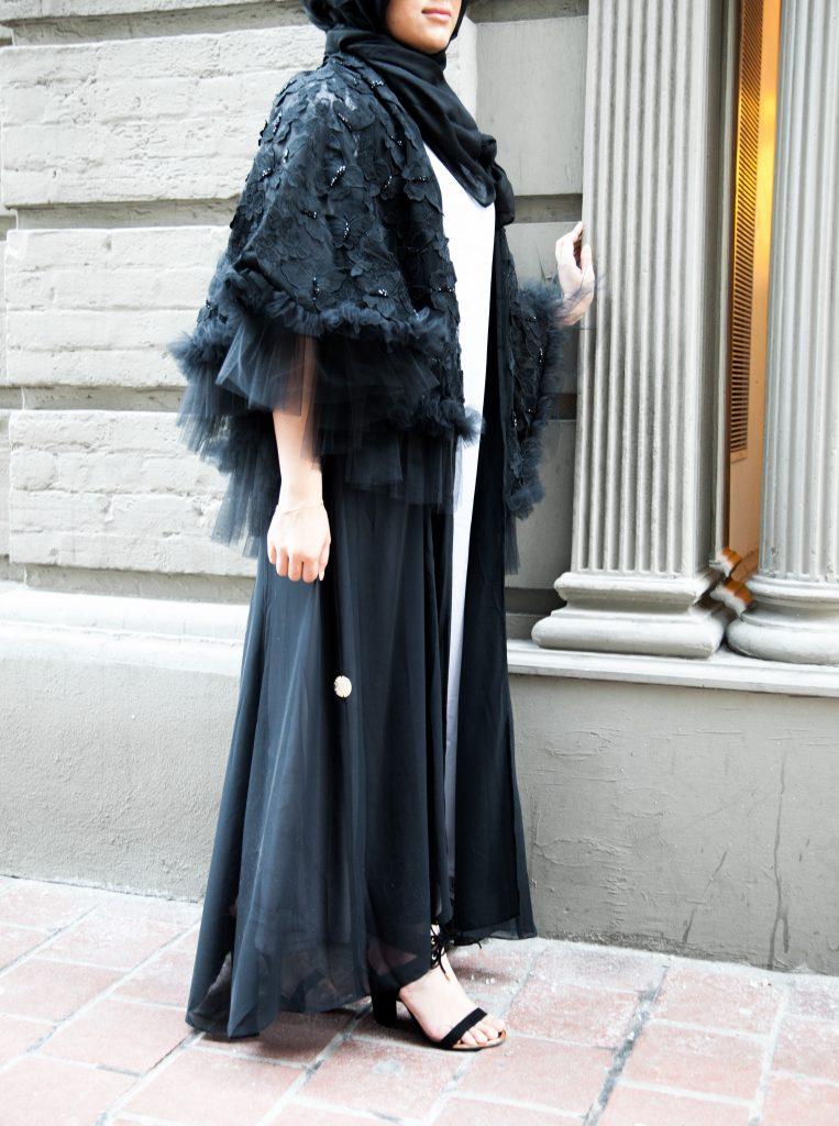 style abaya modestly
